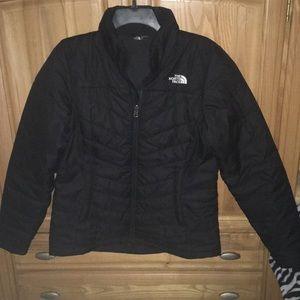 North face Black Puffer Jacket Medium